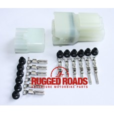 Rugged Roads OEM Style 6-Way Waterproof Connector - CRF1000L Africa Twin
