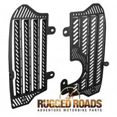 Rugged Roads Radiator Guards - CRF1000L Africa Twin