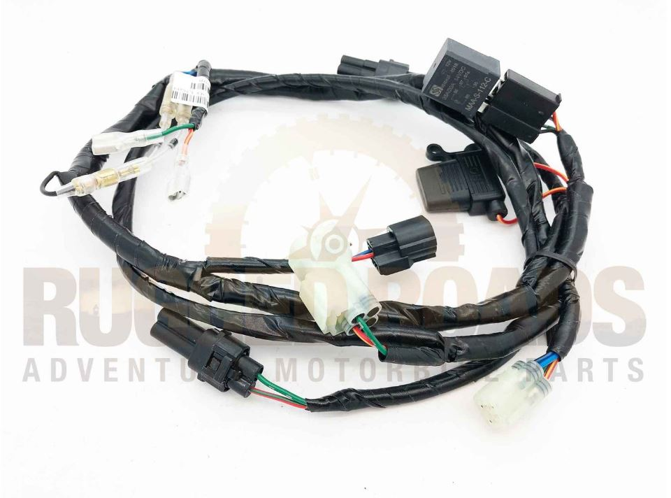 Rugged Roads Universal Plug And Play Wiring Loom With